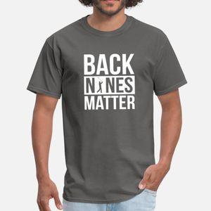 Back Nines Matter Funny Golf Golfing Lover Golfer T Shirt Humor Black Vintage Tracksuit Hoodie Sweatshirt