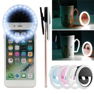 Selfie Light Ring 360 degrés Rotatif Rotule stabilisateur Dimmable USB Light Ring pour la photographie en streaming avec Contro à distance