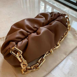 Цепь женской сумочки для плеч Trend маленький итальянский Cal Messger Sag женская дама дизайнерская сумка на плечо простая мода щедрый модный модный
