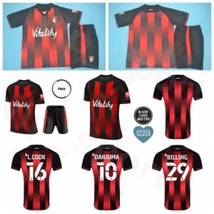 2020 2021 Calcio 8 Jefferson Lerma Jersey Set 7 David Brooks 27 Joshua King 4 Dan Gosling 10 Arnaut Danjuma Football Shirt Kit