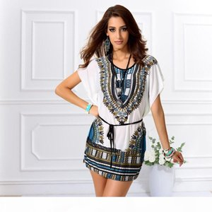 Hot summer Dresses plus big size women Knee-Length office dress vintage vestidos batwing dolman sleeve dress
