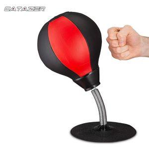 PU desktop Bola Boxe Stress Relief Combate velocidade Reflex Formação perfurador Bola de Muay Tai Exercício Equipamento Desportivo