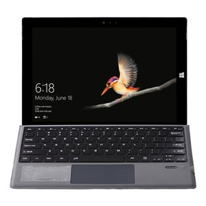 Surface Pro 7 Keyboard Rechargeable Bluetooth Wireless Key Board Case with Touchpad for Microsoft 3 4 5 6 7
