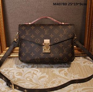 2021 Luxurys Designers Bolsas Mulheres Bolsa Messenger Messenger Oxidante Couro Pochette Metis Elegant Ombro Bags Crossbody Shopping Sacos Tote