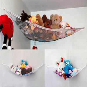 Children Room Hammock Net Pet Organize Corner Stuffed Animals Toys Organize Storage Holder Family Simplicity Gadgets