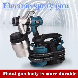 220V 800W alta pressão elétrica Spraying Gun para o automóvel pulverização metralhadora para autom / home o2ZP #
