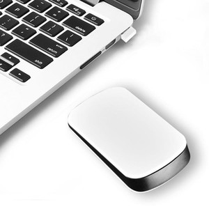 Portable Wireless Computer Mouse Touch Universal PC Computer Notebook Optical 1200DPI Mini 2.4G Wireless Touch Mouse