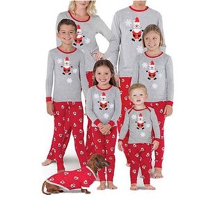 Christmas Pajama Fashion Mother Daughter Clothes Family Matching Outfits Mommy And me Look T-shirt Father Mom Baby Clothing