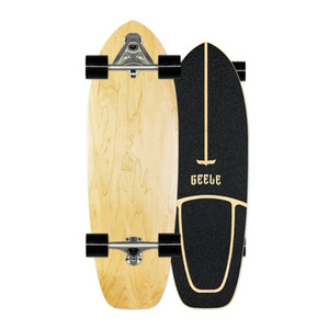 Skateboard de surf hautement lisse Skateboard Single Single Crucher Cruiser Cruiser Skate Board Longboard Cold Cold Sport Street Gym