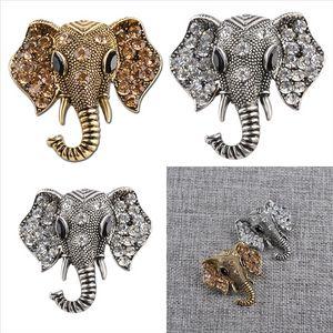 RJ2ks Origami Animal Lapela Pin Brooch Broche Criatividade Esmalte Fox Elefante Elefante Coelho Pins Broches Bear Squirrel Whale Diamond