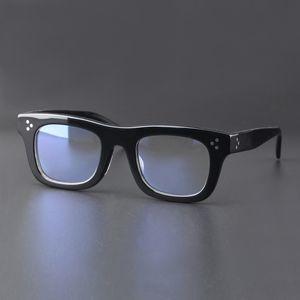 Vazrobe الزجاج وصفة طبية الذكور الأسود UBPW إطارات الرجال خلات للرجال خمر النظارات البصرية Eyewear Xphdo