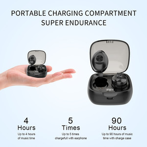 XG8 TWS Bluetooth Earphone Wireless Headphone Stereo Headset sport Earbuds microphone with charging box for smartphone