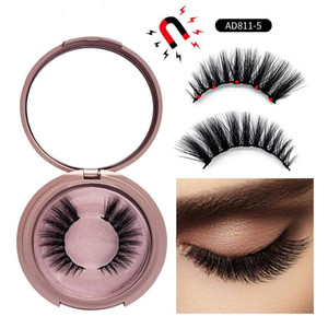 New 5 Magnetic False Eyelashes 9 styles Magnet Fake eyelashes Eye Makeup Kits Eyelash Extension Tool hope11