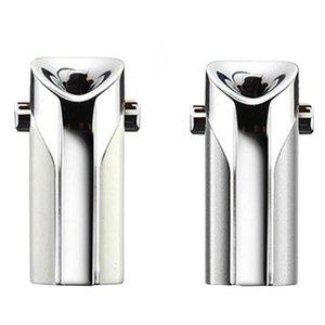 EAS-Wearable Portable Mini Air Purifier Ion Generator Negative Ion Dusting Usb Purifier Silver