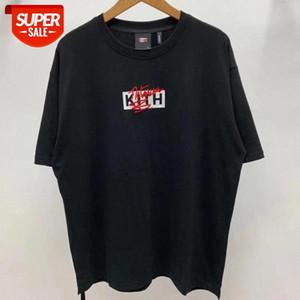 Stickkasten kith notorisches T-shirt Männer Wome Streetwear Kith T-Shirt # MG2L