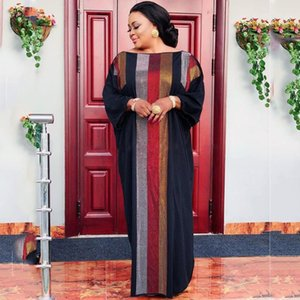 New Model European and American style Plus Size Dashiki Diamond African Clothes Abaya Dubai Muslim Dress Robe Africa For Lady