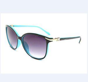 2020 Diseñador de gafas de sol Marca Gafas Sombras al aire libre PC Farme Fashion Classic Ladies Gafas de lujo Espejos paraTiffany Mujeres jis