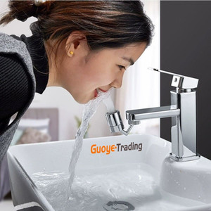 splash filter faucet 720 degree rotatable water filter booster splash-proof shower head Nozzle bubbler dual outlet mode water saving eco