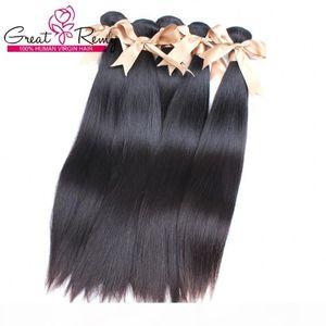10 paquetes Extensión del cabello brasileño barato Weight Human Hair Weave Great Remy Factory Outlet Special para mujeres negras