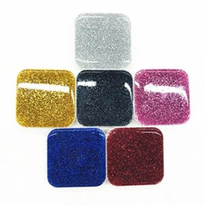 Universal New Square Glitter Style Air Bag Grip Expandable Cell Phone Holder Stand Bracket 3m Glue With Opp Bag Package