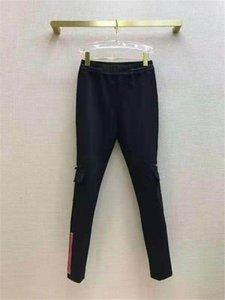 Kadın Tayt Pantolon Bahar Sonbahar Stil Lady Ince Pantolon Throuse Dış Giyim Mektupları Ile Yüksek Bel Spor Capris Baskılı Dipleri Boyutu S-L