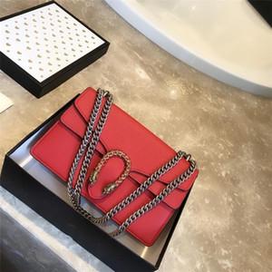 Neue Mode Hohe Qualität Lychee Leder Retro Handtasche Hohe Qualität Leder Umhängetasche Diagonale Tasche 6 Farben