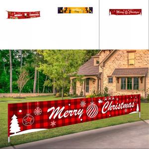 Halloween Banner tessuto non tessuto Bandiera Decorazioni di Natale Portico Sign Bandiere partito Front Door Decor Celebration 14gy G2