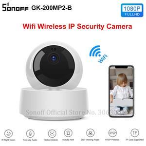SONOFF GK-200MP2-B 1080P HD البسيطة واي فاي كاميرا الذكية كاميرا IP لاسلكية 360 IR للرؤية الليلية مراقبة الطفل كاميرات المراقبة