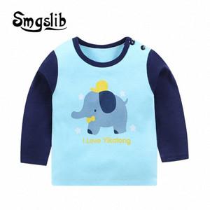 Smgslib рубашка футболка для Детских Детей Девочки Мальчиков Мальчика рубашка динозавра Детских Детского Kid Хлопок Мультфильм Верхней одежды uUji #