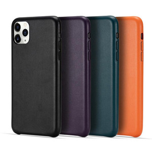 DHL 30pcs High Class PU Leather Solid Color Shock Proof Back Case for Iphone SE2020 11PRO MAX Samsung S20 Huawei P40 Top Quality Cover