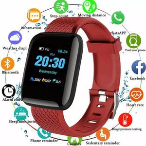 116plus جديد أنيق d13 الساعات الذكية الرياضة الإلكترونية smartwatch اللياقة البدنية المقتفي لالروبوت الهاتف الذكي IP67 Waterproof Watch