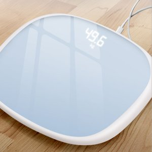 Free Shipping New Design Human Body Scale Intelligent Electronic Smart Scale Charging Body Fat Scale LED Digital Household