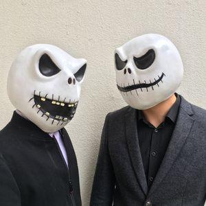 Nightmare Before Christmas Mask L'orrore Maschere Jack Skellington Cosplay lattice Casco Halloween Party figura regalo