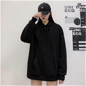 Mens Hoodies Male Sweater Sweatshirt Casual Fashion Men Womens Loose Hoodie Black White Asian Size M-4XL