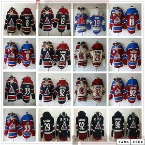 Colorado Avalanche Hockey Hoodies Jerseys 92 Gabriel Landeskog Mikko Rantanen Cale Makar Matt Duchene Joe Sakic Nathan MacKinnon Patrick Roy