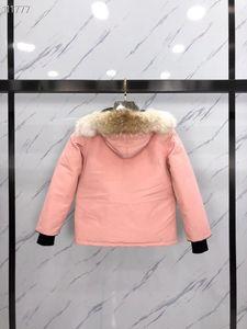 Heli Arctic Parka Boy Hooded Expedition Giacca per bambini Calda abbigliamento camuffamento in polvere rossa in bianco e nero 110-150