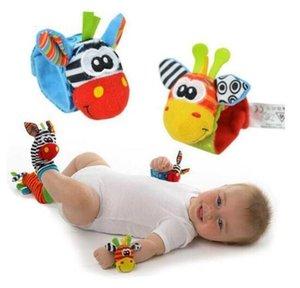 Arrivée Pied de poignet Finder Finder Jouets Baby Jouets Chaussettes et bracelets 3 Styles Développement d'apprentissage Set jouet
