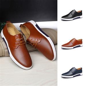 On-Mato Yaz Hollow Klasik Derby erkek Elbise Ayakkabı Nefes Bitty Boy 46 47 48 Gündelik Iş Takım ayakkabı Y200420