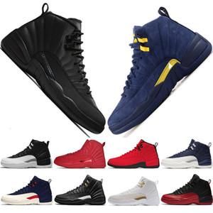 12s Winterized Wntr Gym Michigan Mens Basketball Shoes The Master Flu Game Taxi Vachetta Tan 12 Men Sport Shoe Sneaker Trainers #1 w