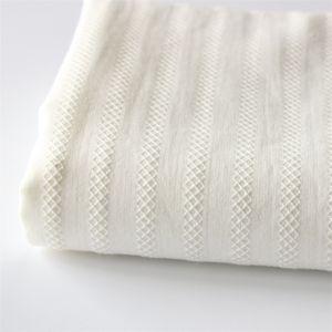 White Cloth Cotton Jacquard Fabric Pastoral Small Fresh Shirt Skirt Fabric Wear SD06