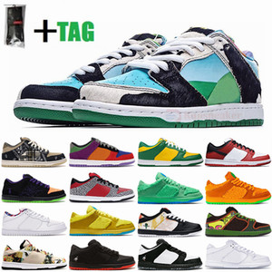 Nike 2021 Con calcetines sb zapatillas bajas Dunk Chunky Dunky Zapatillas deportivas Travis scotts Shadow Raygun Tie Dye Paris Skate Baskets Zapatillas deportivas