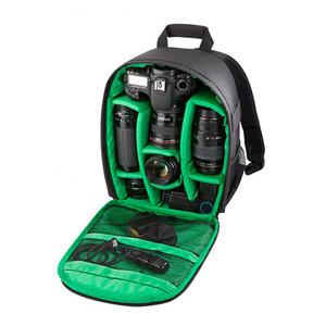 Сумка для фотокамеры Digital DSLR сумка водонепроницаемых противоударных Дышащих камеры Рюкзак для Nikon Canon Sony Малых Видео Фото Сумка Рюкзак
