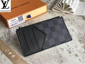 Coin C1WI qianqianli2 titular de la tarjeta N64038 CARTERA LARGA CADENA DE CARTERAS COMPACT CLUTCHES bolso de noche CLAVE