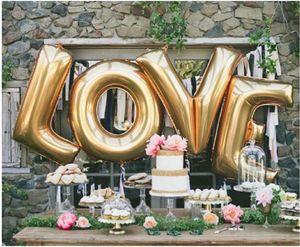 """Yeni Tasarım 40 """"A - Z Tam Alfabe Hava Balon Parti Düğün Dekorasyon Mylar Folyo Balon Büyük Büyük Mektup DWF2880"""