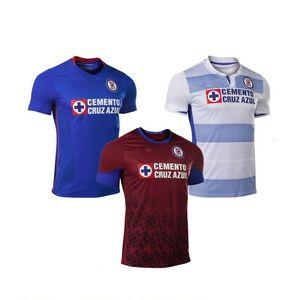 20-21 Cruz Azul Thai Качество Футбол Джерси 2020 Футбол Джерси Индивидуальные Обучение Лучшие Спортивные Интернет Индивидуальные Dropshipping Приняты