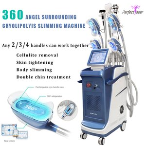 9 IN1 cryolipolysis fat freezing weight loss slimming machine cavitation liposuction 360 fat frozen slimming equipment cellulite reduction