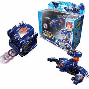 Novas screechers uma peça estourar deformado cubo figura de ação Transformado anime guerra besta Transformação robô brinquedo de criança presente