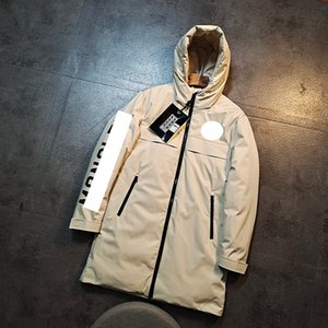 MO 2020 NC Winter New Men's Designer Down Jacket Fashion Luxury Long Jacket High Quality Fashion Long Down Jacket