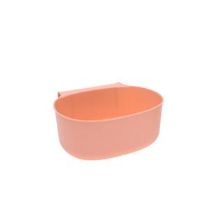 Puerta Plástico Colgante Rechace Bins Sólido Color Liño Transh Cocinero Cocina Cocina Cuarto de baño Dormitorio Cesta de residuos Removible Nueva Llegada 1 29QH G2