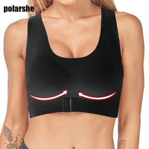 Women Bra Front Buckle Body Shaper Corset Tops Sculpture Back Chest Lines Underwear Back Support Posture Corrector Wireless Bra